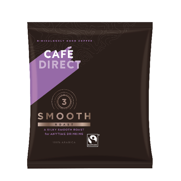 Cafedirect Smooth Roast Ground Coffee Sachet 60g (Pack of 45) TW112015