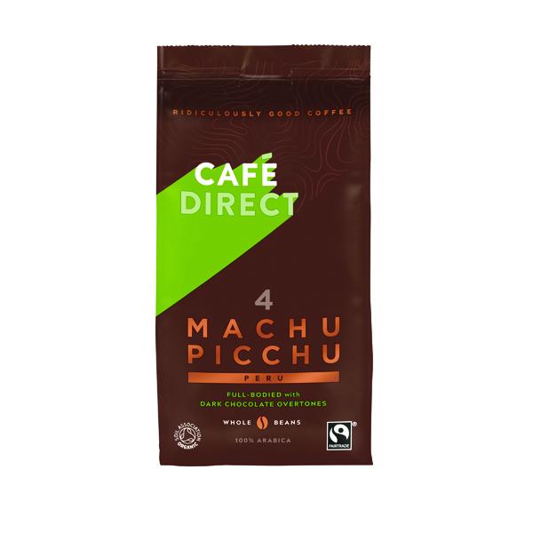 Cafedirect Machu Picchu Whole Coffee Beans 227g FCR1004