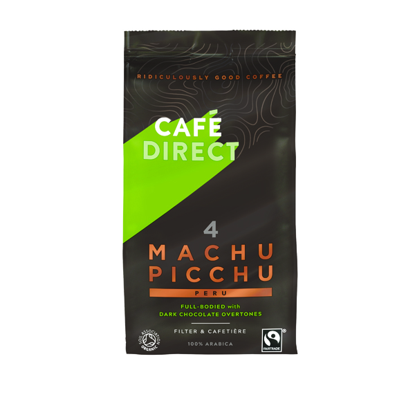 Cafedirect Machu Picchu Ground Coffee 227g Buy 2 Get FOC Advent Calendar