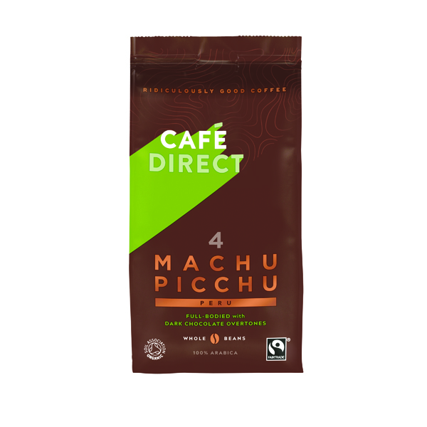 Cafedirect Machu Picchu Coffee Beans 227g Buy 2 Get FOC Advent Calendar
