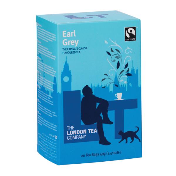 London Tea Earl Grey Tea (Pack of 20) FLT0007
