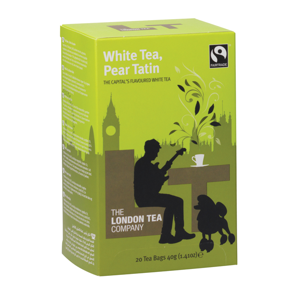 London Tea Pear Tatin White Tea (Pack of 20) FLT19154