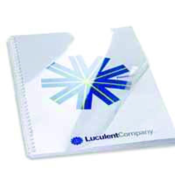 GBC HiClear PVC Binding Covers 150 Micron A4 Super Clear (Pack of 50) 41601U
