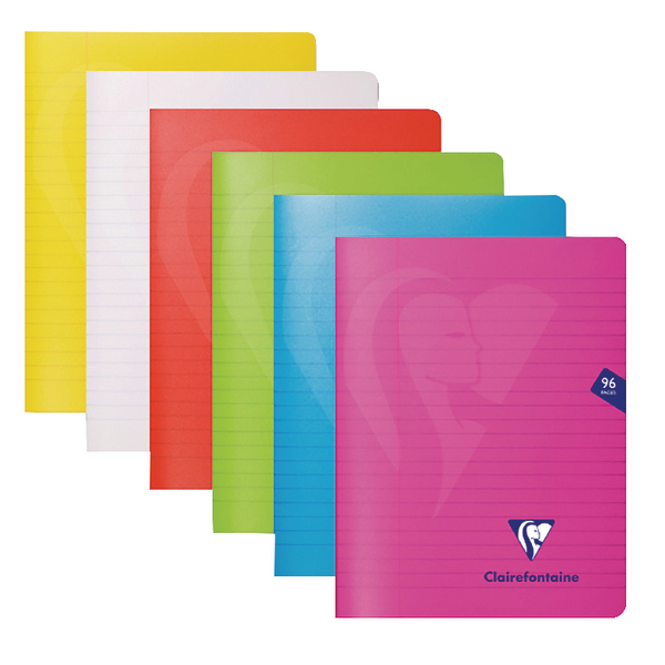 Clairefontaine Mimseys Notebook A4 Assorted (Pack of 10) 303165C
