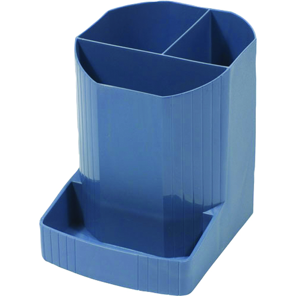 Exacompta Forever Pen Pot Blue 675101D