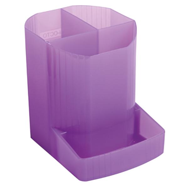 Iderama Pen Pot Purple 67519D