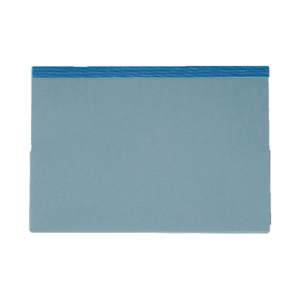 Image for Guildhall Blue Reinforced Double Legal Pocket Wallet (Pack of 25) 218-BLU