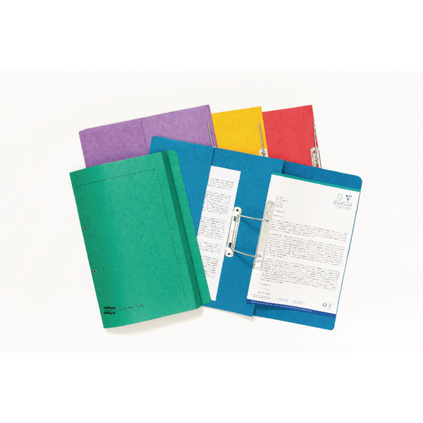 Europa Spiral Pocket Files Foolscap Assorted (Pack of 25) 3010Z