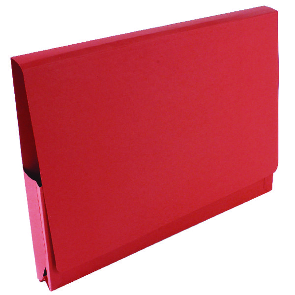 Guildhall Brief Size Pocket Wallet 14x10in Red (Pack of 50) PW3-RED