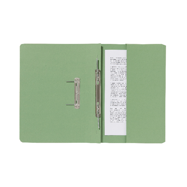 Guildhall Pocket Spiral File 285gsm Green (Pack of 25) 347-GRNZ