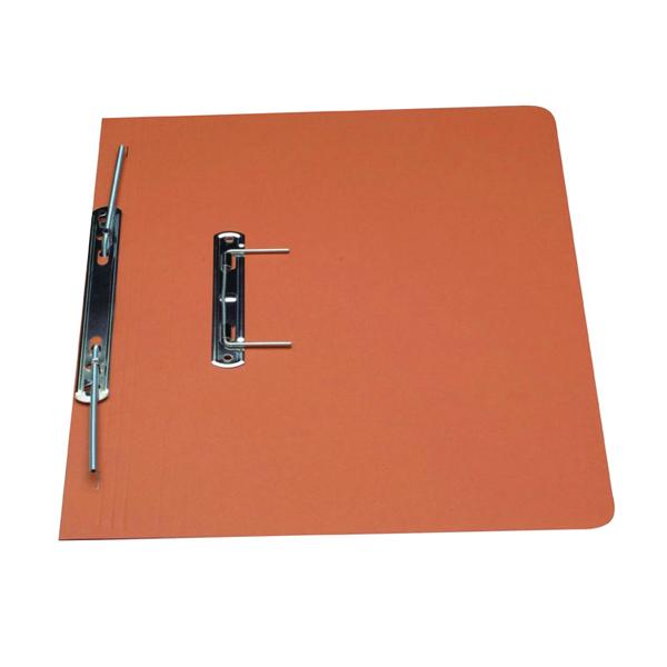 Guildhall Transfer Spiral File 315gsm Foolscap Orange (Pack of 50) 348-ORG