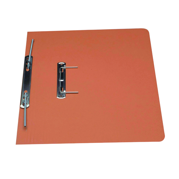 Guildhall Orange Foolscap Heavyweight Spiral File (Pack of 25) 211/7004