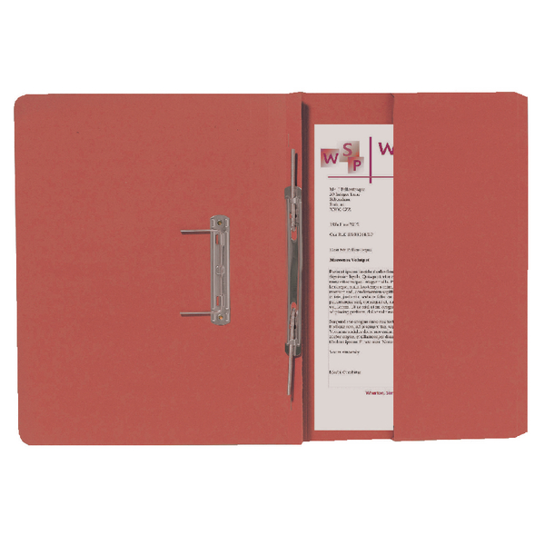 Guildhall Orange Foolscap Right Hand Pocket Spiral File (Pack of 25) 211/9063Z