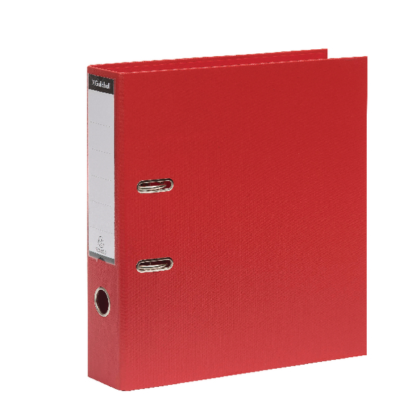 Exacompta Guildhall 70mm Lever Arch File A4 Red (Pack of 10) 222/2002Z