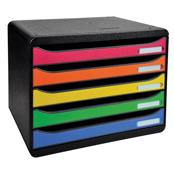 Iderama Big Box Plus Landscape 5 Drawer Set Harlequin 308798D