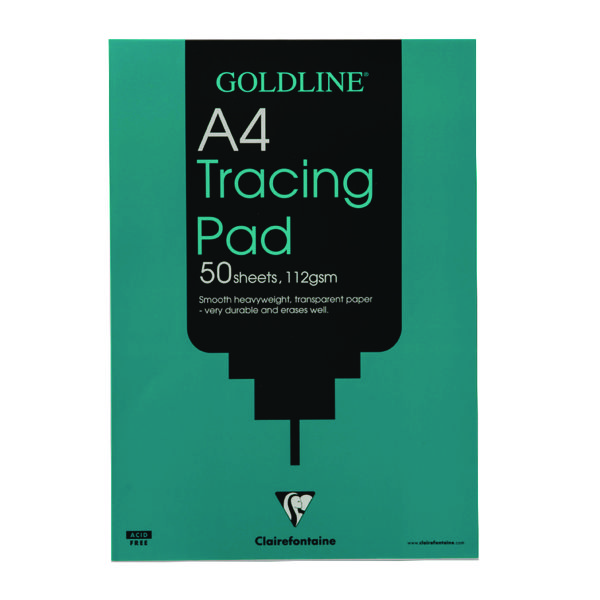 Goldline Heavyweight Tracing Pad 112gsm A4 50 Sheets GPT3A4