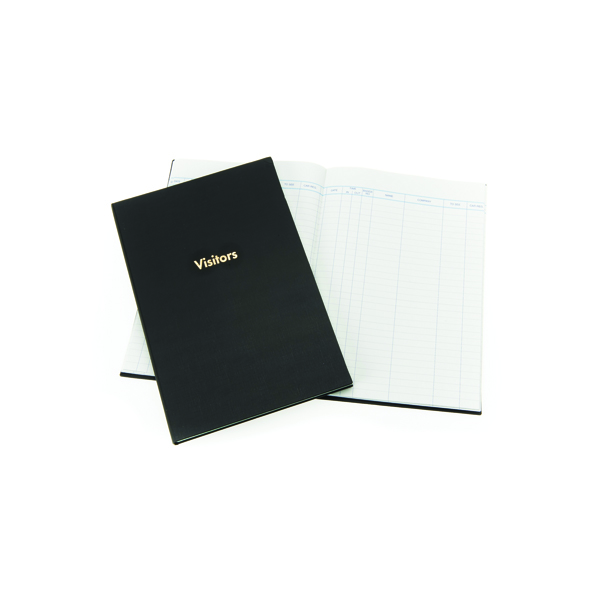 Guildhall Company Visitors Book 160 Pages Blue T253
