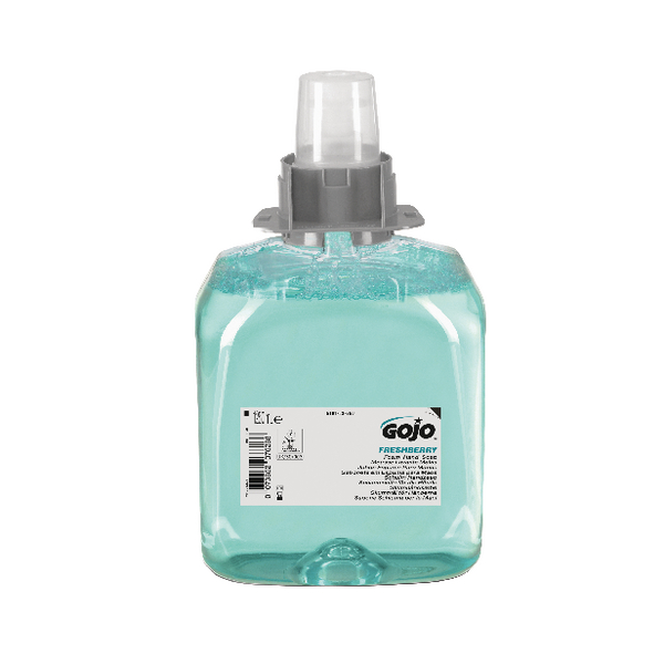 Gojo FMX Luxury Hair Body and Hand Foam Wash Refill 1250ml (Pack of 3) 5163-03-EEU