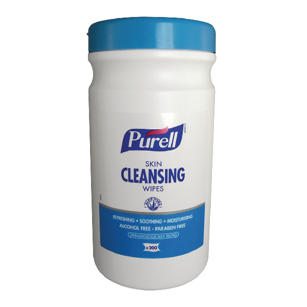 Purell Skin Cleansing Wipes (Pack of 200) 93106-06-EEU