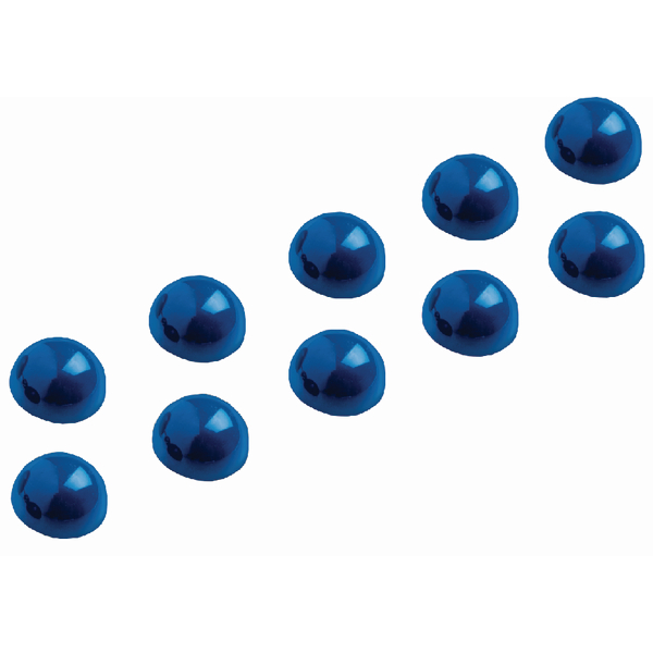 Maul Dome Magnet 30mm Blue (Pack of 10) 6166035