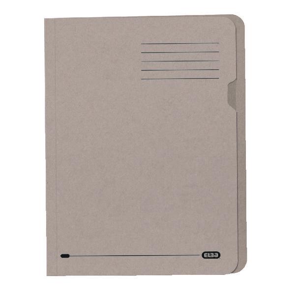 Elba A4 Buff Lightweight Square Cut Folder (Pack of 100) 100090117