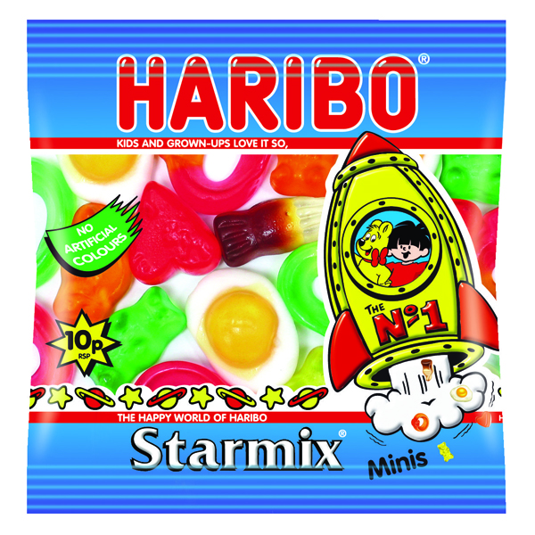 Haribo Starmix Small Bag (Pack of 100) 72443