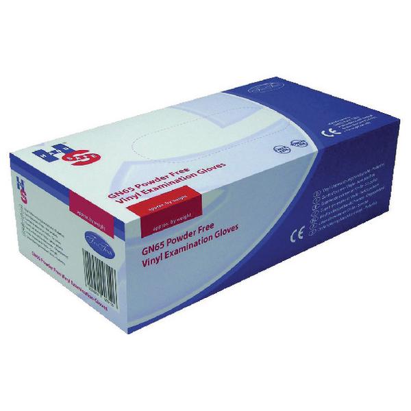 Handsafe Powder-Free Clear Medium Vinyl Gloves (Pack of 1000)