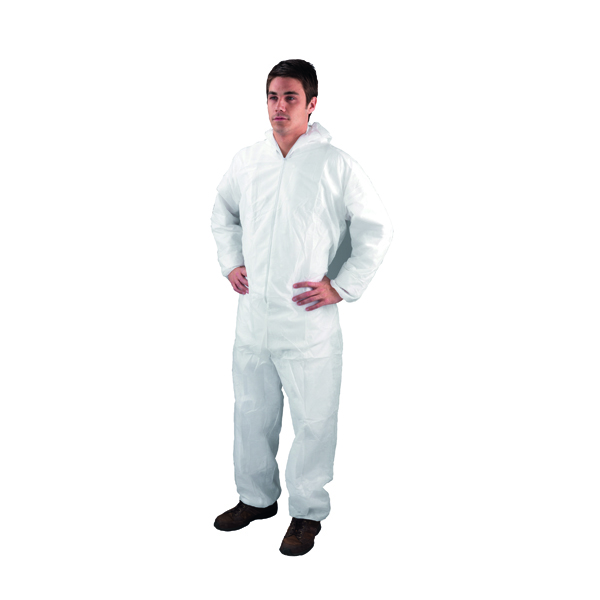 Non-Woven Coverall Medium White DC03