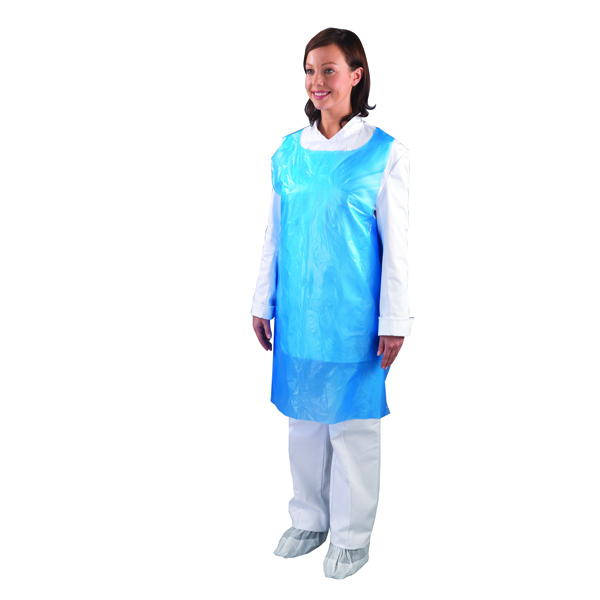 Shield Blue Disposable Aprons on a Roll (Pack of 1000) A2B/R
