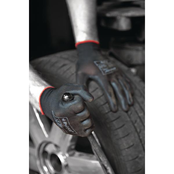 Image for Polyco Matrix P Grip Gloves 9 Black 403-MAT