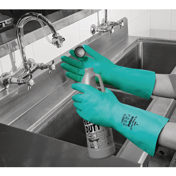 Polyco Size 9 Nitrile Synth Rubber Glove