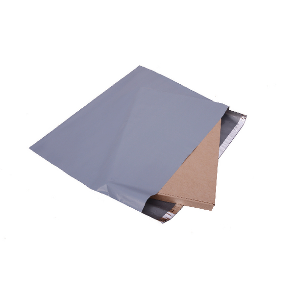 Polythene Mailing Bag Opaque Grey 440x320mm (Pack of 500)