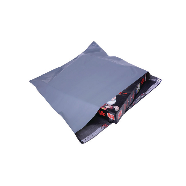 Polythene Mailing Bag Opaque Grey 460x430mm (Pack of 500)