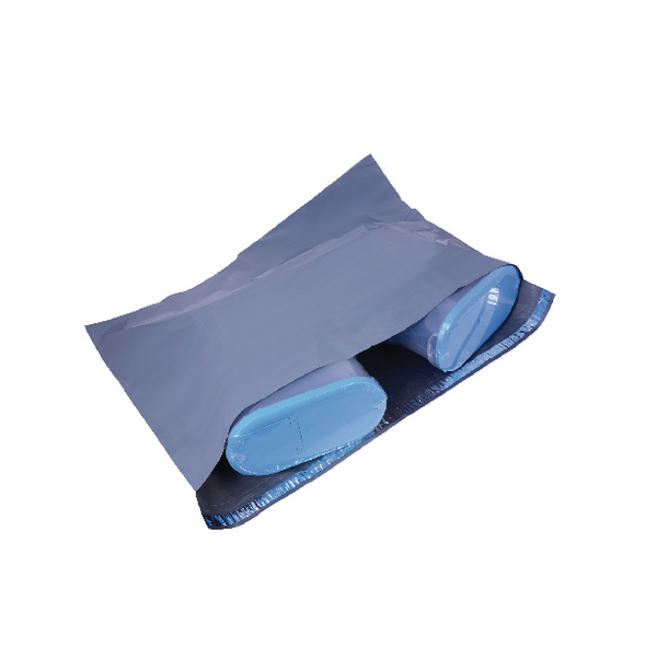 Polythene Mailing Bag Opaque Grey 595x430mm (Pack of 250)