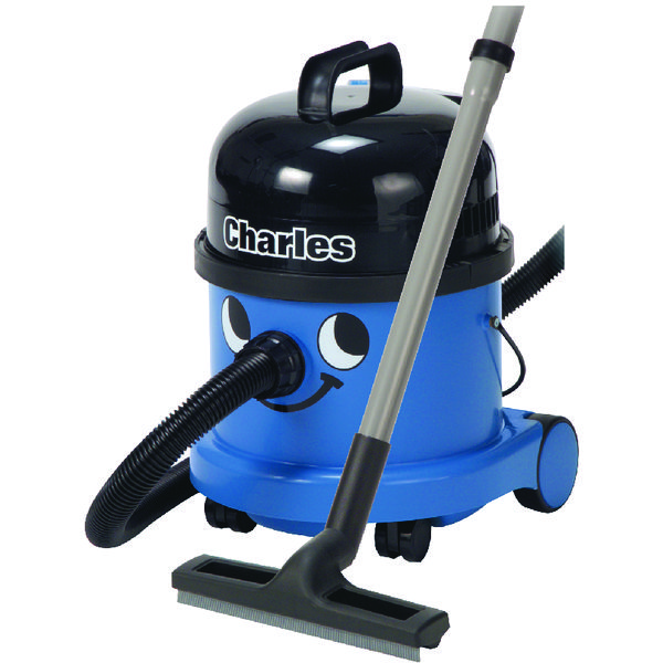 Numatic Charles Wet and Dry Vacuum Cleaner Blue CVC370