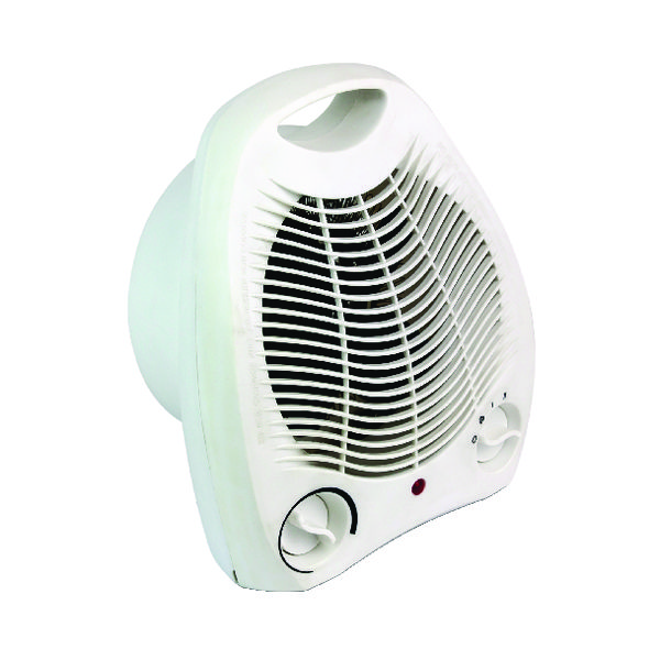 Image for Fan Heater Upright 2kW White HID52553 (1)