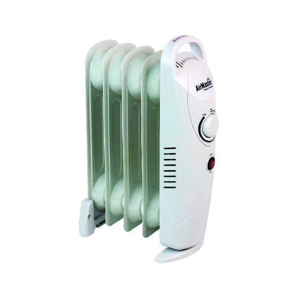 Image for 500W Six Fin Baby Oil-Filled Radiator White CRHOF320/H