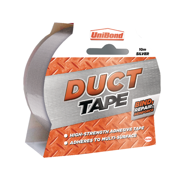 Unibond Duct Tape Silver 50mmx10m 1667265