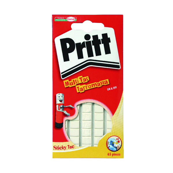Pritt Sticky Tac White 35g (Pack of 12) 1563151