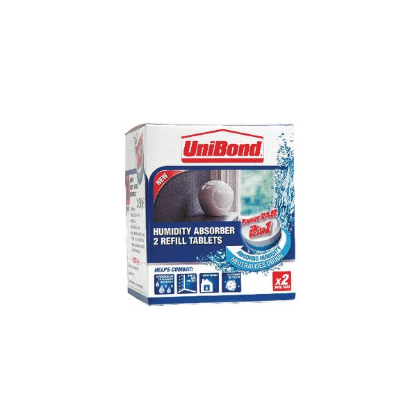 Image for UniBond Humidity Absorber Small Refill (Pack of 2) 1554712 (0)