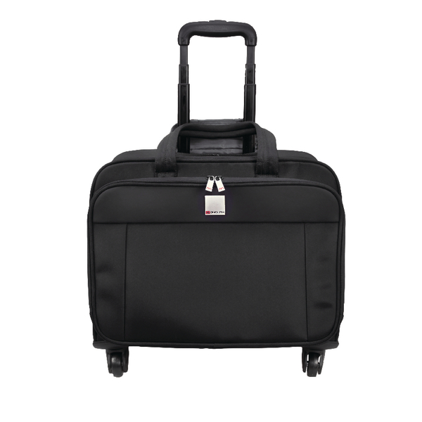 Motion II 4 Wheel Laptop Trolley Case Black 3208
