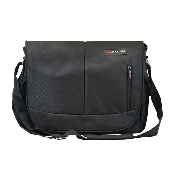 Monolith Motion II Courier Messenger Bag Black 3203