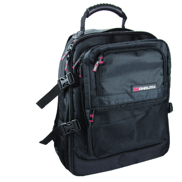 Monolith Premium Laptop Backpack Black 9106