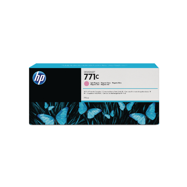HP 771C Light Magenta Designjet Ink Cartridge B6Y11A