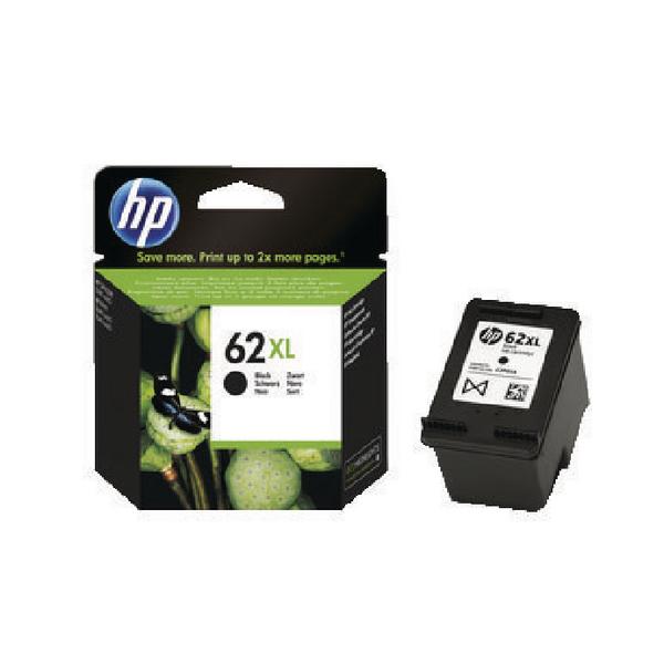 HP 62XL Black Ink Cartridge C2P05AE
