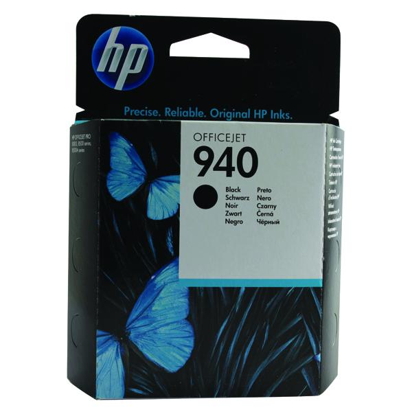 HP 940 Black Inkjet Print Cartridge C4902AE