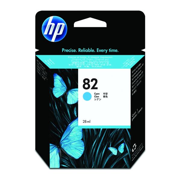 HP 82 Cyan Inkjet Cartridge C4911A