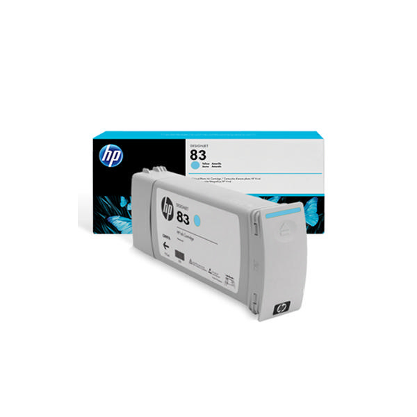 HP 83 Light Cyan UV Inkjet Cartridge C4944A