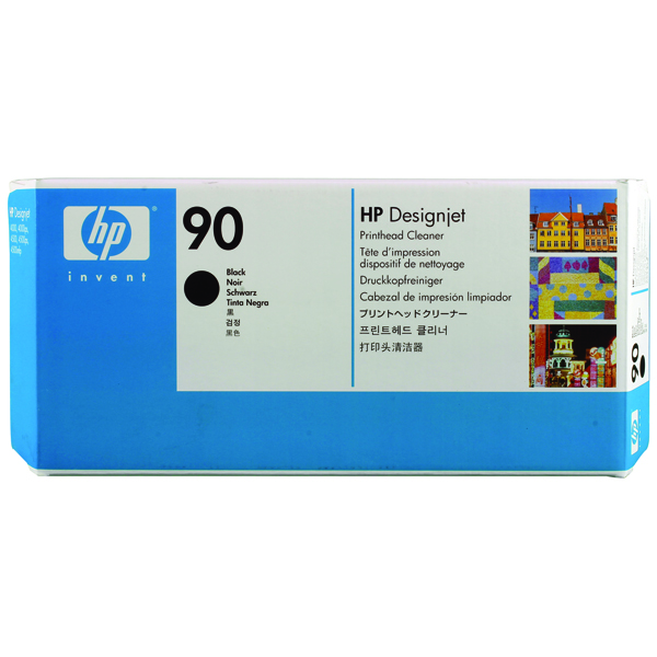 HP 90 Black Printhead Cleaner (For DesignJet 4000 Series) C5096A