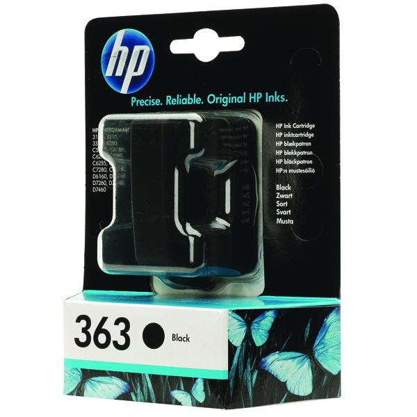 HP 363 Black Inkjet Cartridge C8721EE